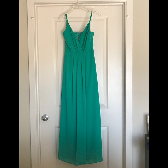 Adelyn Rae Dresses Nordstrom Green Formal Long Dress Poshmark